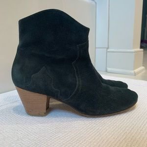 5349ad21efe Isabel Marant Étoile genuine suede leather booties
